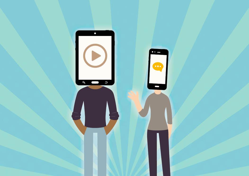 Wie gehen neue Zielgruppen mit dem Thema Digitalisierung um? Damit befasst sich der zum Bild gehörende Artikel über neue Zielgruppen.